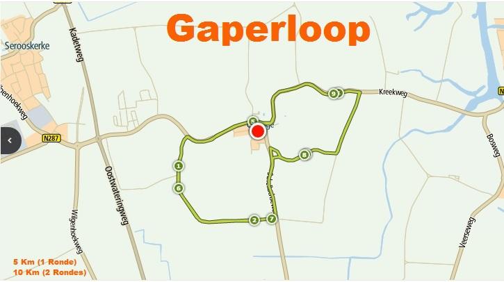 Parcours Gaperloop 2017