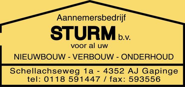 Sturm 160 x 75
